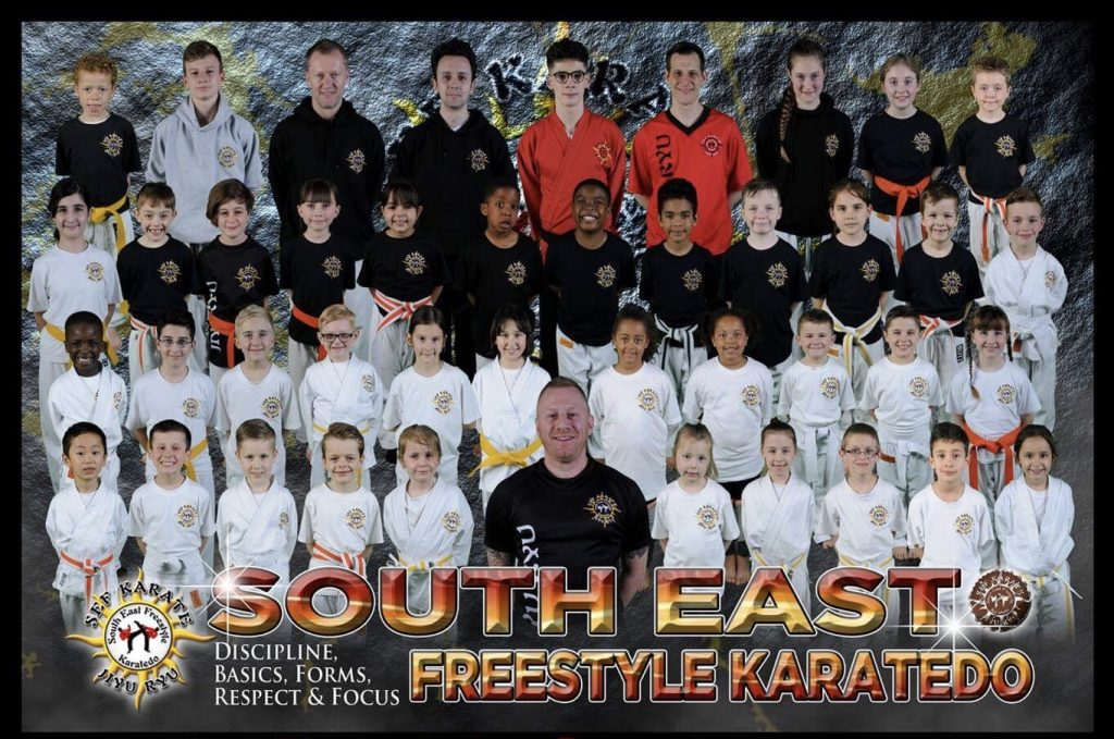 See Karate group photo